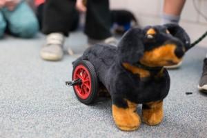 GES dog wheels